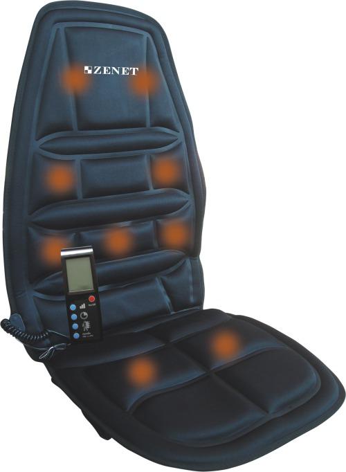 Массажная накидка на автомобильное кресло Zenet TL-2007-В
