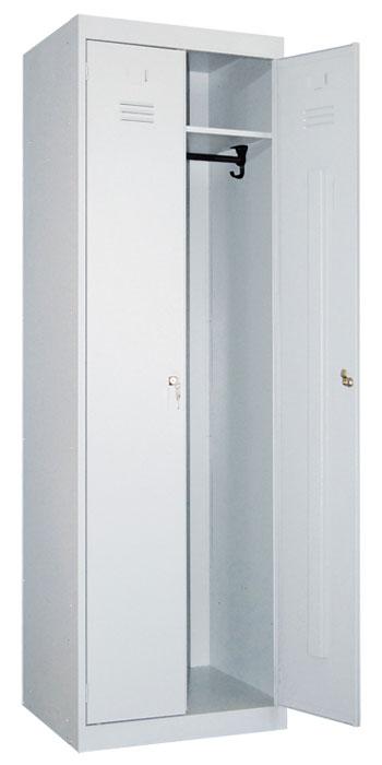 Металлический шкаф для одежды ШР-22-800
