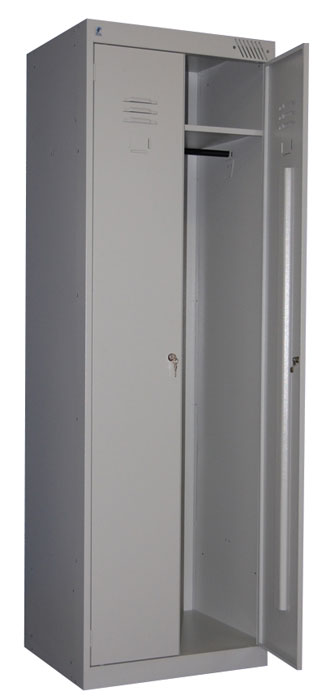 Металлический шкаф для одежды ШРК-22-800