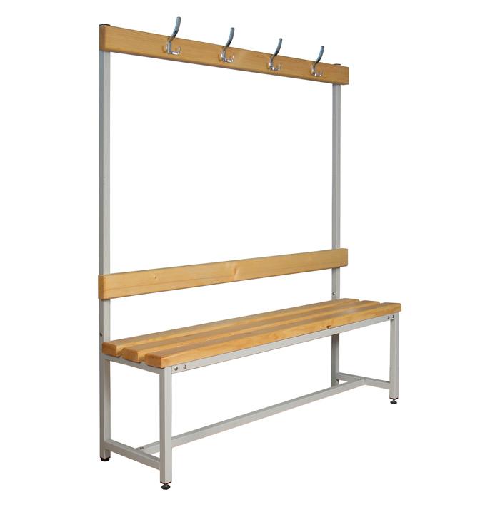 Скамейка с вешалкой 100-200 см