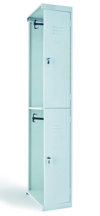 Металлический шкаф для одежды  ШРС 12:300 ДС