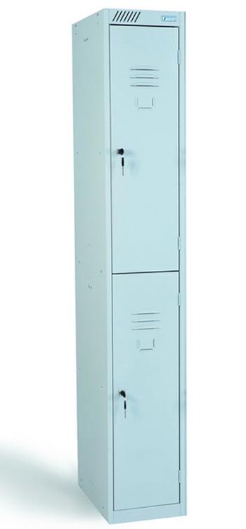 Металлический шкаф для одежды ШРС 12:300