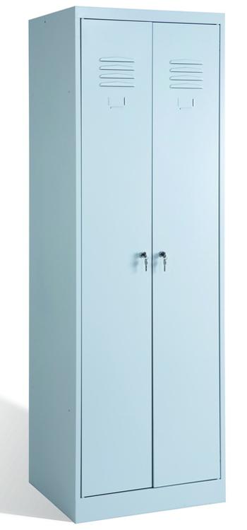 Металлический шкаф для одежды ШРК-22-800 ВСК